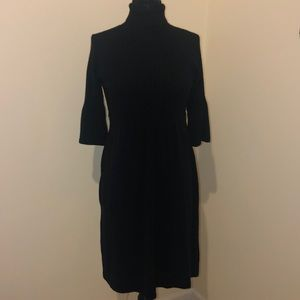AGB Black Sweater Dress Size Large